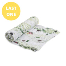 Load image into Gallery viewer, Rolling Hills - Cotton Muslin Swaddle - Little Unicorn
