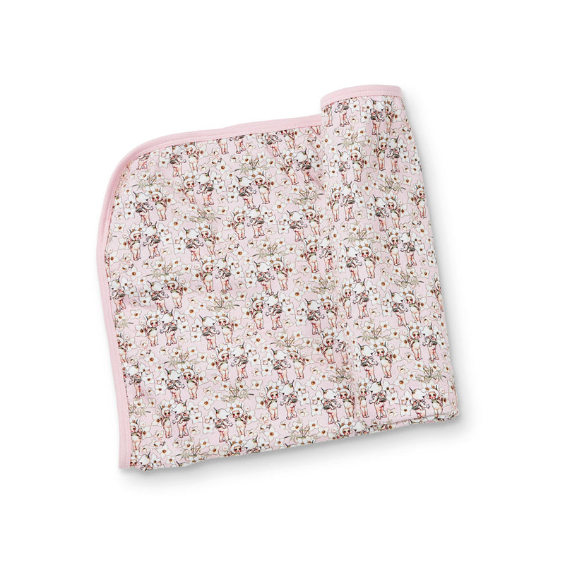 May Gibbs 'Spring Floral' Blanket