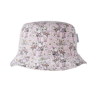 May Gibbs 'Spring Floral' Sun Hat