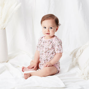 May Gibbs 'Wattle 'Spring Floral' Onesie