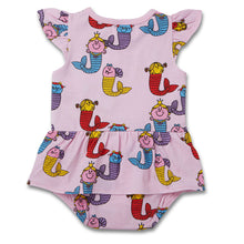 Load image into Gallery viewer, Little Miss Mermaids Ginger Frill Romper