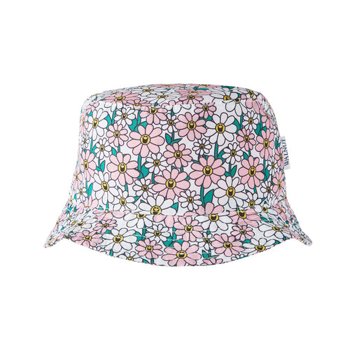 Little Miss Flower Power Sun Hat