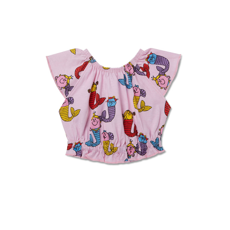 Little Miss Mermaids Rara Crop Top
