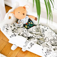 Load image into Gallery viewer, Bunny - Organic Muslin Swaddle