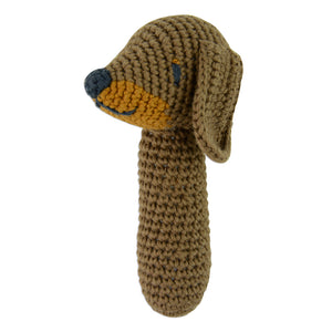 Snags the Sausage Dog Rattle