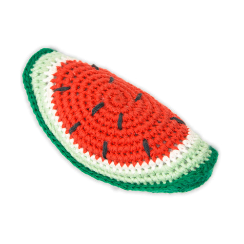 Crochet Watermelon Rattle