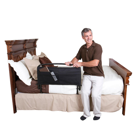 Safety Bed Rail with Padded Pouch