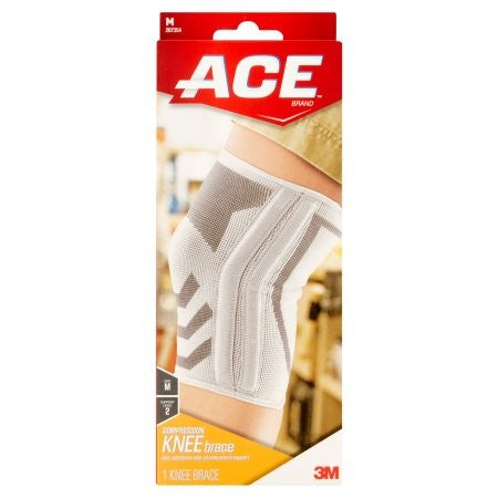 ACE Knitted Knee Brace w/Side Stabilizers Sizes S-L