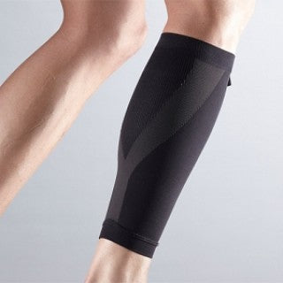 Calf Compression Black Sleeve Power System