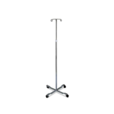 Medline Four-Leg IV Pole Stand