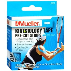 Mueller Kinesiology Tape Pre-Cut Strips