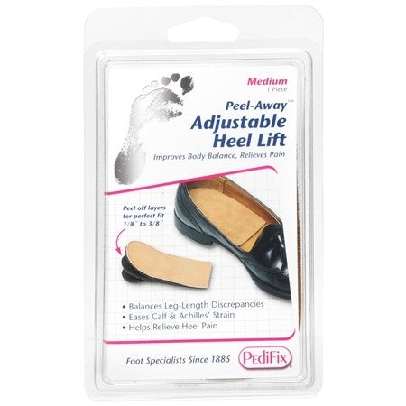 PediFix Peel Away Adjustable Heel Lift Large