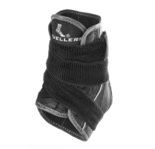 Premium Soft Ankle Brace With Straps by Mueller Sports