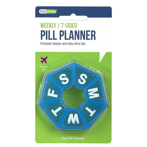 Weekly 7-Sided Pill Planner