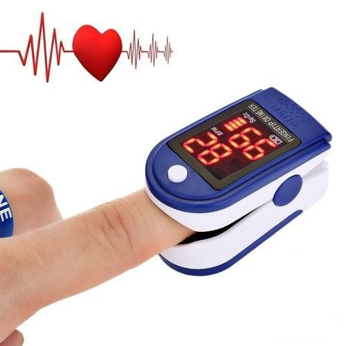 2019 Newest Good choice for travel Finger Pulse Oximeter Blood Oxygen SpO2 PR Heart Rate Monitor