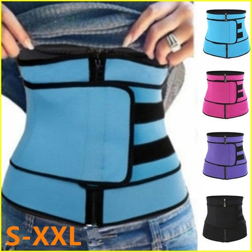New Hot S-XXL Women Waist Trainer Tummy Belt-Body Shaper Belt