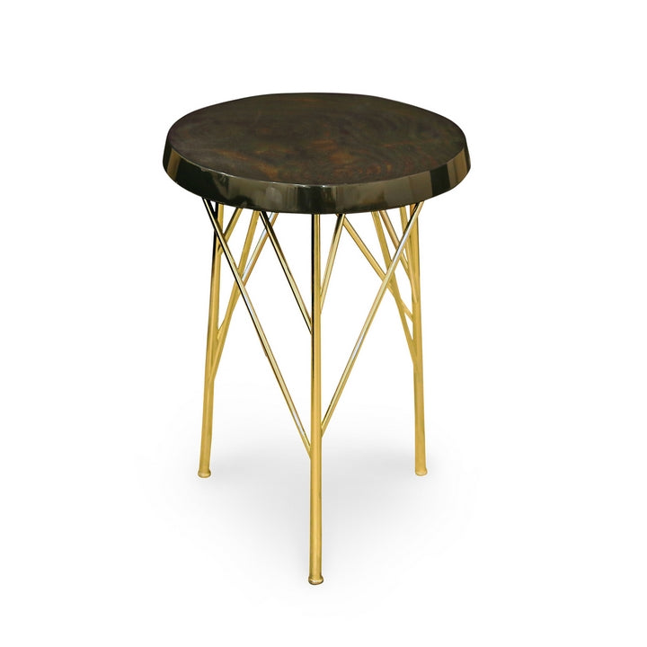 TABLE BASSE CEYHAN MARRON PANEVA