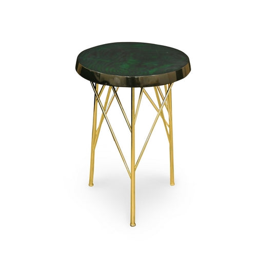 TABLE BASSE CEYHAN VERTE PANEVA