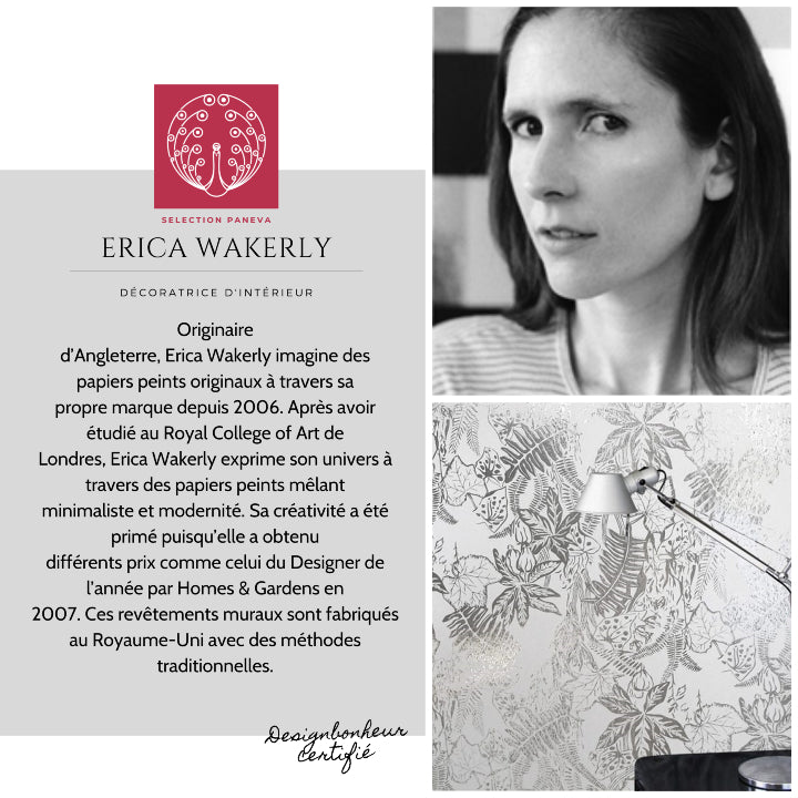 PRESENTATION ERIKA WAKERLY WALLPAPER PAR PANEVA