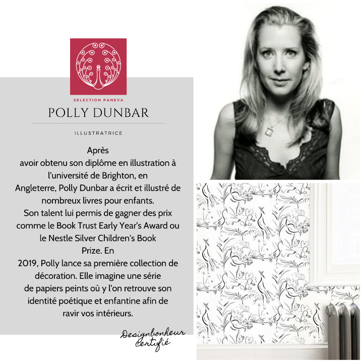 PRESENTATION CREATEUR POLLY DUNBAR PAR PANEVA WALLPAPER