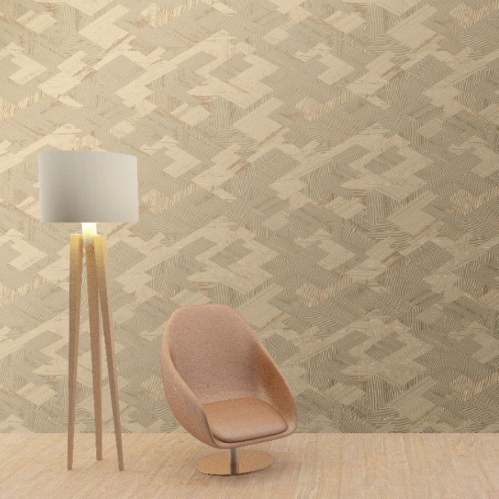 PAPIER PEINT SLOW LIVING CONTRACT OBJECT PANEVA WALLPAPER