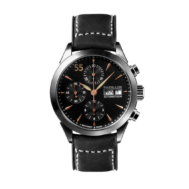 Montre automatique chronographe - 38-CAT-048