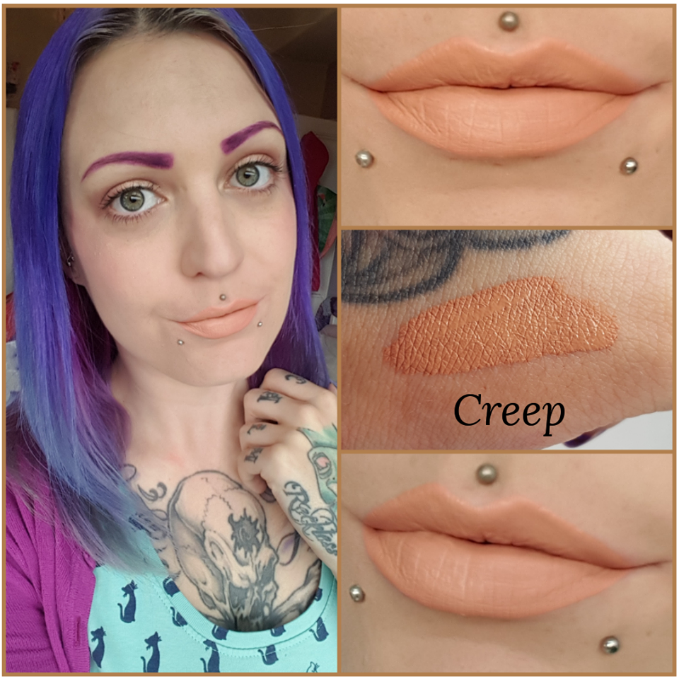 Creep Liquid Matte Lipstick - The Beauty Vault