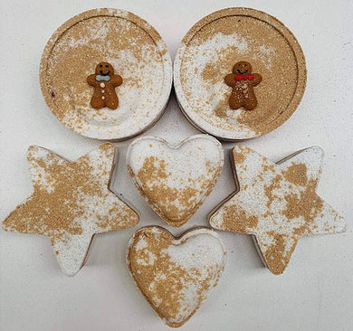 Ginger Spice Star Bath Bomb