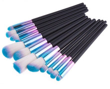 Blue & Purple Gradient Brush Set - The Beauty Vault