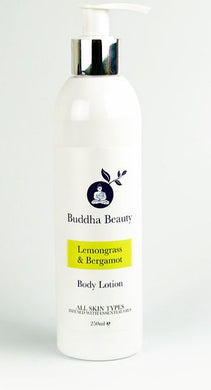 Lemongrass and Bergamot Organic Body Lotion - The Beauty Vault