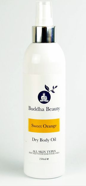 Organic Sweet Orange Dry Body Oil - The Beauty Vault