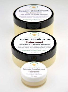 Natural Deodorant Cedarwood - The Beauty Vault