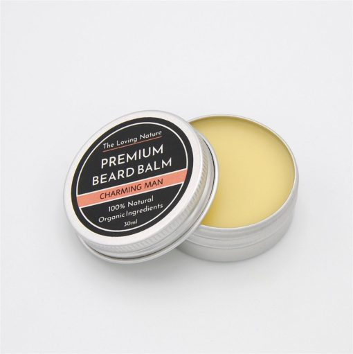 All Natural Premium Beard Balm – Charming Man - The Beauty Vault
