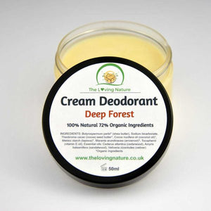 Natural Deodorant Deep Forest - The Beauty Vault