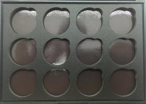 Empty 12 Glitter Eyeshadow Magnetic Palette - The Beauty Vault