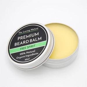 All Natural Premium Beard Balm – Free Spirit - The Beauty Vault