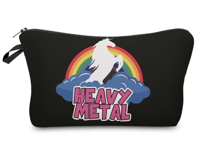 Heavy Metal Unicorn Makeup Bag - The Beauty Vault