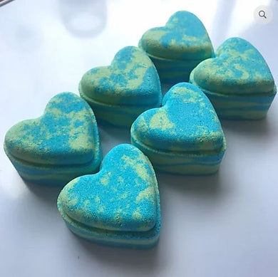 Jelly Bean Love Heart Bath Bomb - The Beauty Vault
