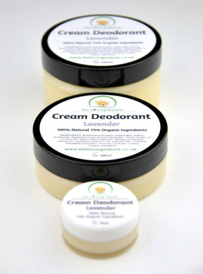 Natural Deodorant Lavender - The Beauty Vault