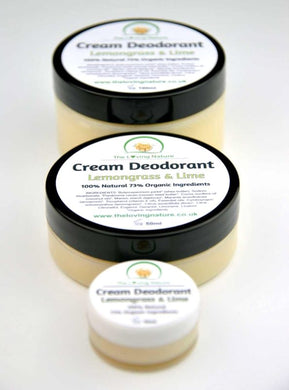 Natural Deodorant Lemongrass & Lime - The Beauty Vault