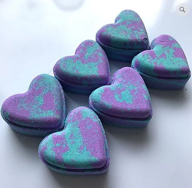 Oceana Love Heart Bath Bomb - The Beauty Vault