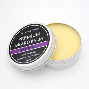 All Natural Premium Beard Balm – Patchouli - The Beauty Vault