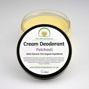 Natural Deodorant Patchouli - The Beauty Vault