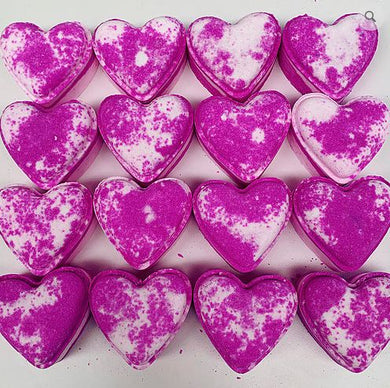 Pear & Freesia Love Heart Bath Bomb - The Beauty Vault