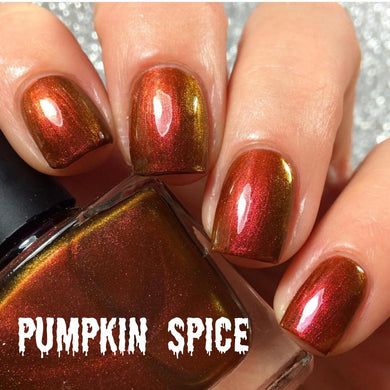 Pumpkin Spice - The Beauty Vault