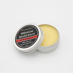 All Natural Premium Beard Balm – Pure Strength - The Beauty Vault
