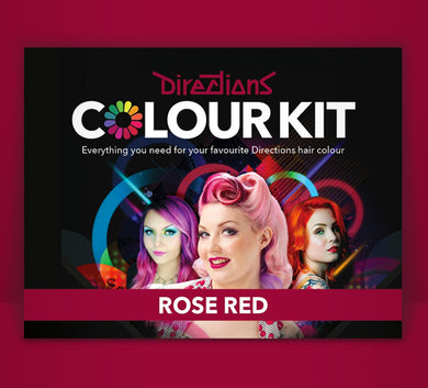 Rose Red Colour Kit - The Beauty Vault