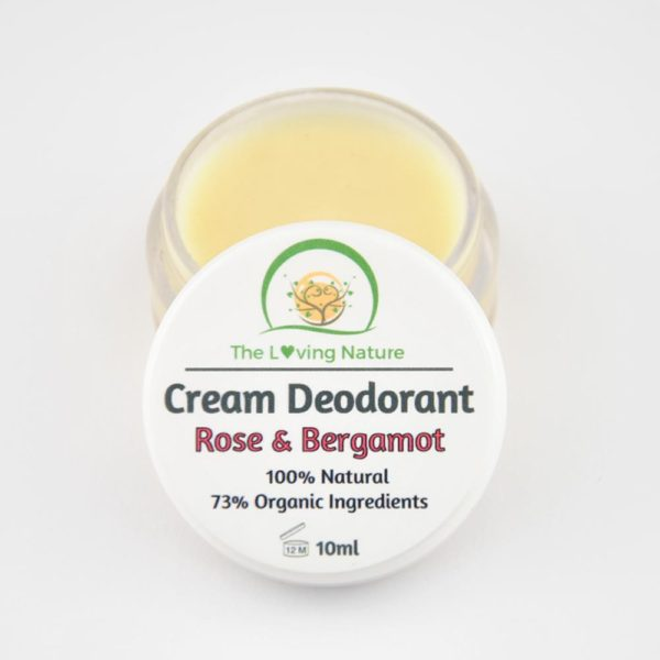 Natural Deodorant Rose & Bergamot - The Beauty Vault