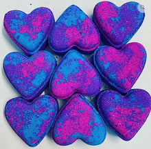 Sugar Plum Love Heart Bath Bomb - The Beauty Vault