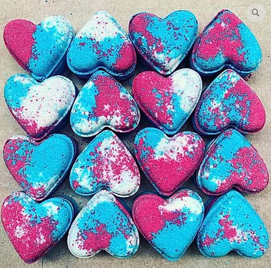 Sweet Shop Love Heart Bath Bomb - The Beauty Vault